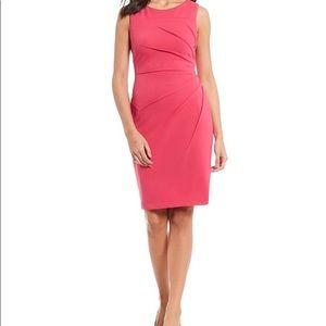 Calvin Klein 🌺 CORAL 🌺 Sheath Dress - 4P